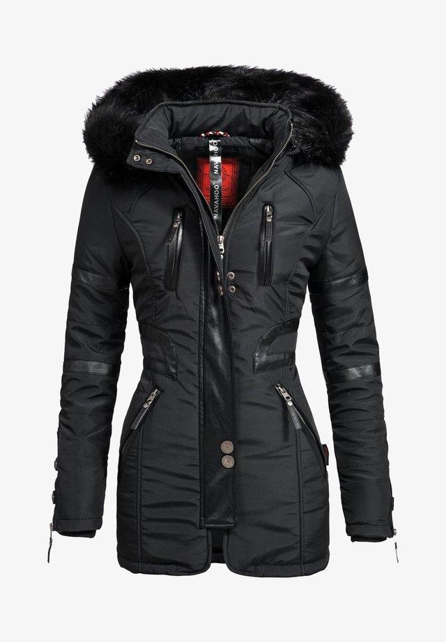 MOON - Wintermantel - black