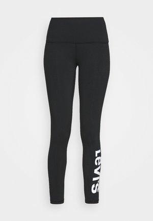 OFF DUTY LEGGING - Pyjama bottoms - black