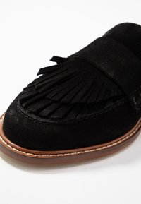 Anna Field - LEATHER SLIPPERS - Slip-ons - black - 2