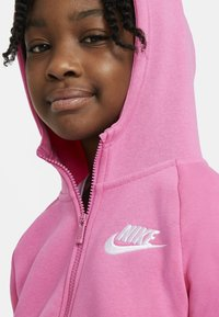 Nike Sportswear - FULL ZIP - Hoodie met rits - pinksicle/white - 3
