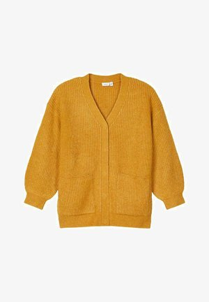 Cardigan - spruce yellow