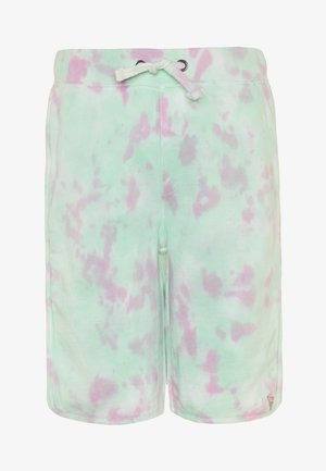JUNIOR ACTIVE SHORTS MINIME - Tracksuit bottoms - green/pink cloud