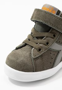 Diadora - GAME S HIGH - Sports shoes - burnt olive green - 2