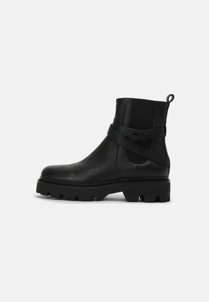 MONTGOMERY STREET - Platform ankle boots - black