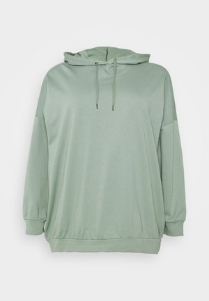 NMELLA BELIEVE OVERSIZE  - Sweatshirt - slate gray