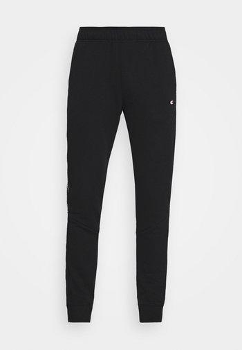 CUFF PANTS - Verryttelyhousut - black