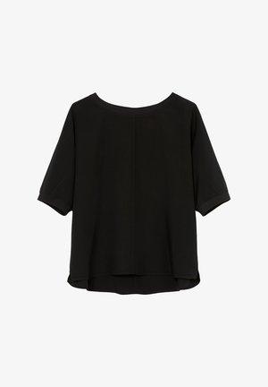 Blouse - dusty black