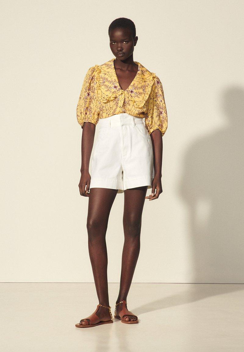 sandro - Shorts - blanc