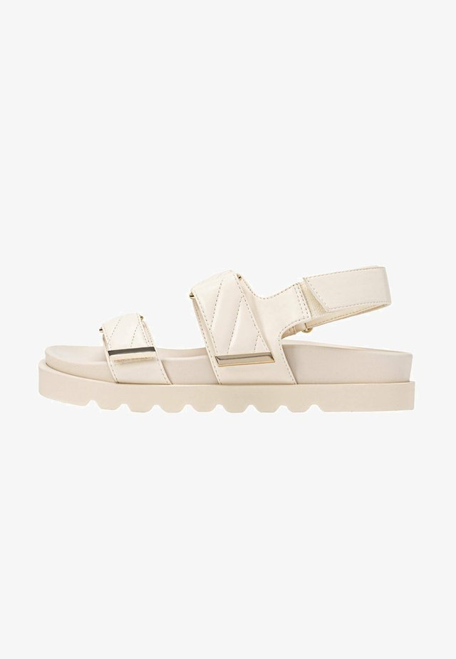 Plateausandaler - off-white