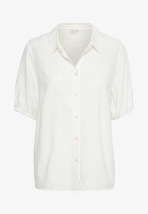 CRVENTA - Button-down blouse - snow white