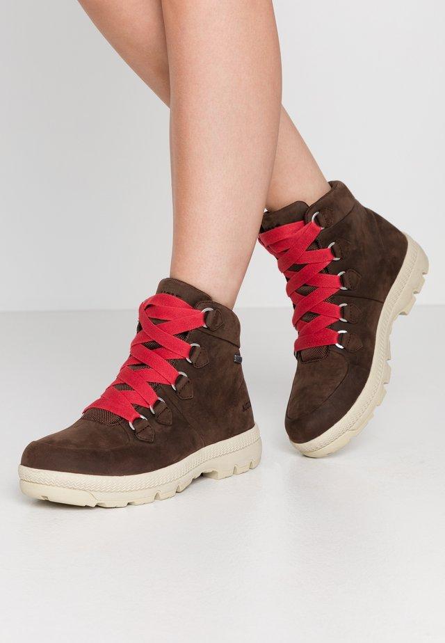 RETRO GTX - Šněrovací kotníkové boty - brown