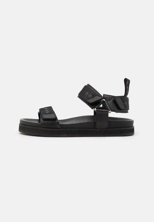 ROUTE SPORT - Sandals - black