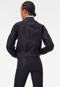 G-Star - FLIGHT BOMBER - Bomber Jacket - pitch black - 1