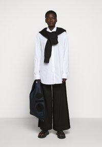 MM6 Maison Margiela - Shopping bag - dark blue/black - 1