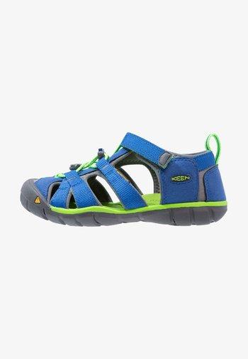 SEACAMP II CNX - Walking sandals - true blue/jasmine green