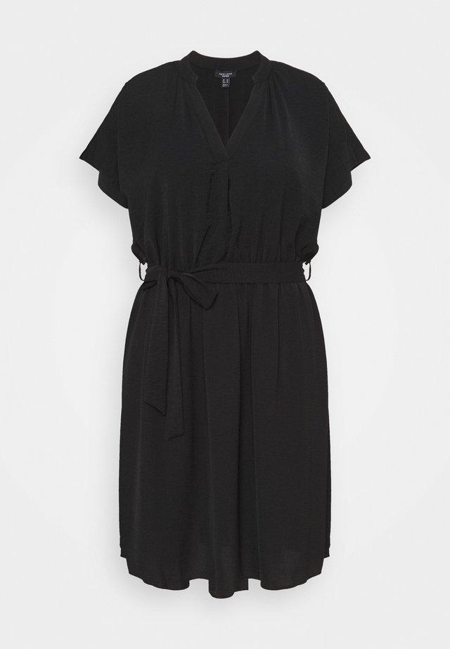 OVERHEAD BELTED - Fodralklänning - black