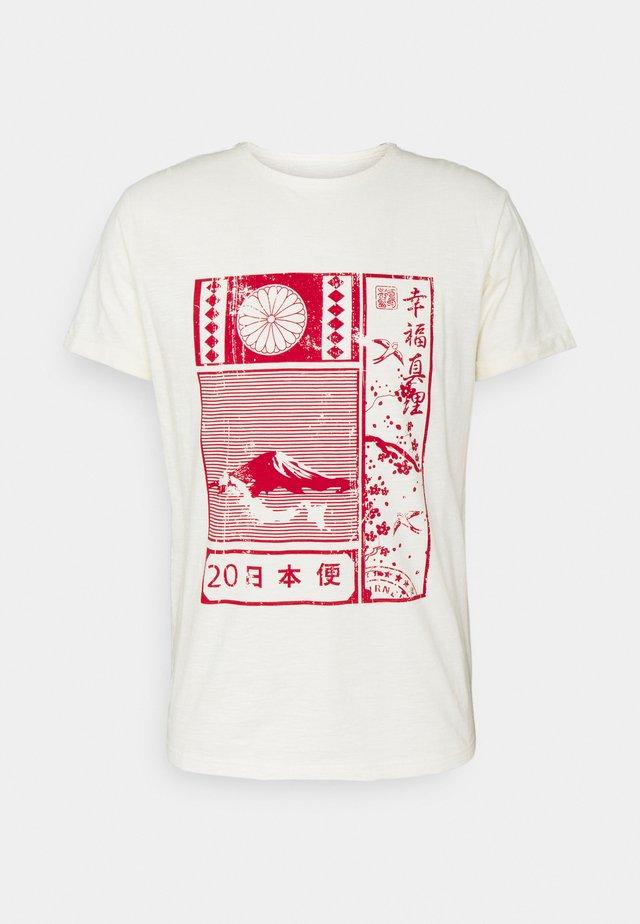 GALINDO - T-shirt print - marshmellow