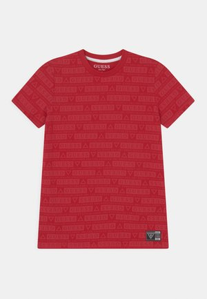 UNISEX - T-shirt print - tulip red