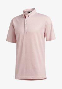 adidas Golf - ADIPURE OTTOMAN POLO SHIRT - Funktionsshirt - red - 7