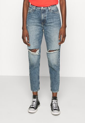 MOM - Jeans baggy - denim medium