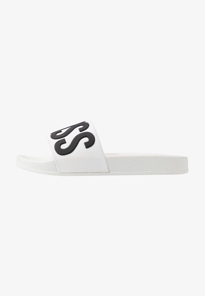 BOSS Kidswear - SLIDE - Sandały kąpielowe - white
