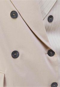 Bershka - Waistcoat - beige - 5