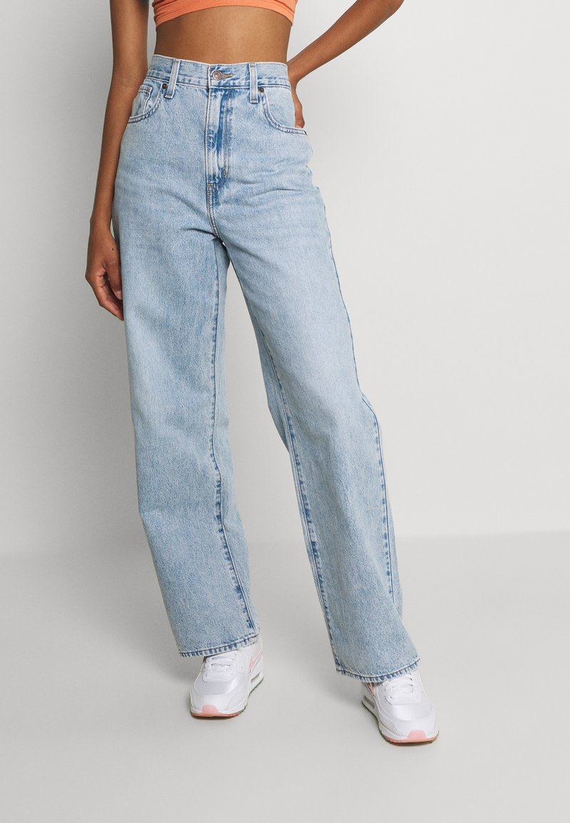 Levi's® - HIGH WAISTED STRAIGHT - Jeans relaxed fit - charlie boy