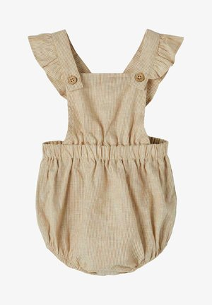 Dungarees - tobacco brown