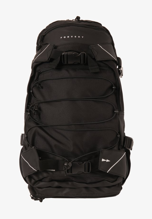 LOUIS CROSS - Rucksack - black/black
