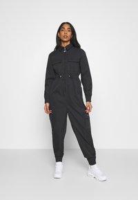 Nike Sportswear - UTILITY - Combinaison - black/white - 0