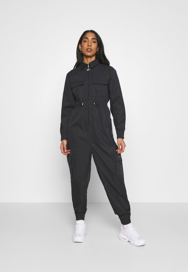 UTILITY - Overall / Jumpsuit /Buksedragter - black/white