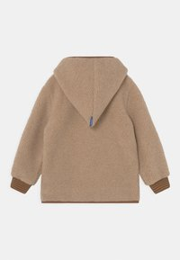 Finkid - TONTTU NALLE UNISEX - Fleece jacket - pebble/cinnamon - 1