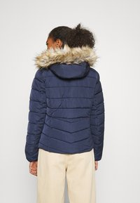 ONLY - ONLNEW ELLAN QUILTED HOOD JACKET - Light jacket - night sky - 2