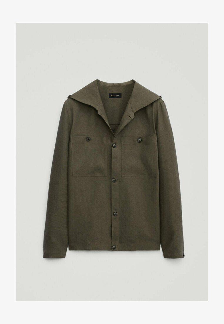 Massimo Dutti - Summer jacket - green