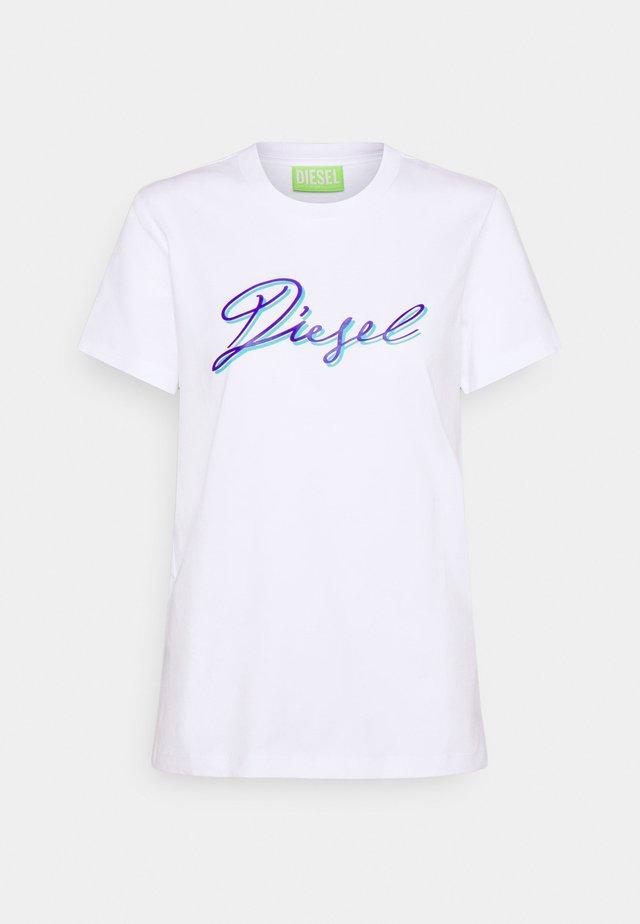 T-SILY-K10 - T-shirt imprimé - white