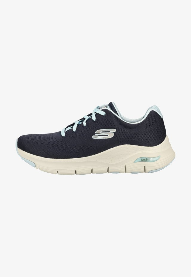 Sneakersy niskie - blau nvlb