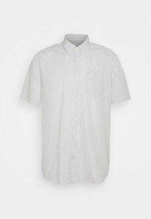 SEERSUCKR - Košile - dark khaki