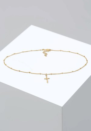 KREUZ BASIC  - Necklace - gold-coloured