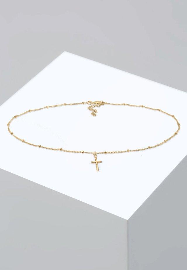 KREUZ BASIC  - Collier - gold-coloured