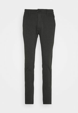 PONTE ROMA PLAIN - Trousers - dark grey melange