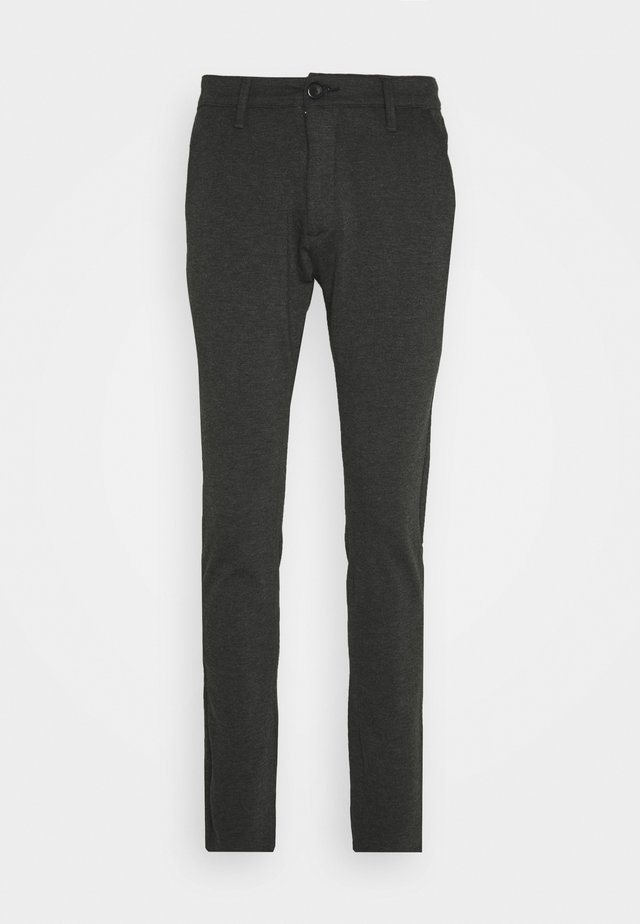 PONTE ROMA PLAIN - Broek - dark grey melange