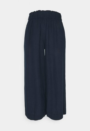CROP - Trousers - dark blue