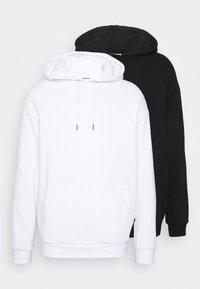 YOURTURN - 2 PACK UNISEX - Jersey con capucha - white - 0