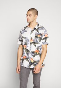 Quiksilver - POOLSIDERSS - Shirt - snow white - 0