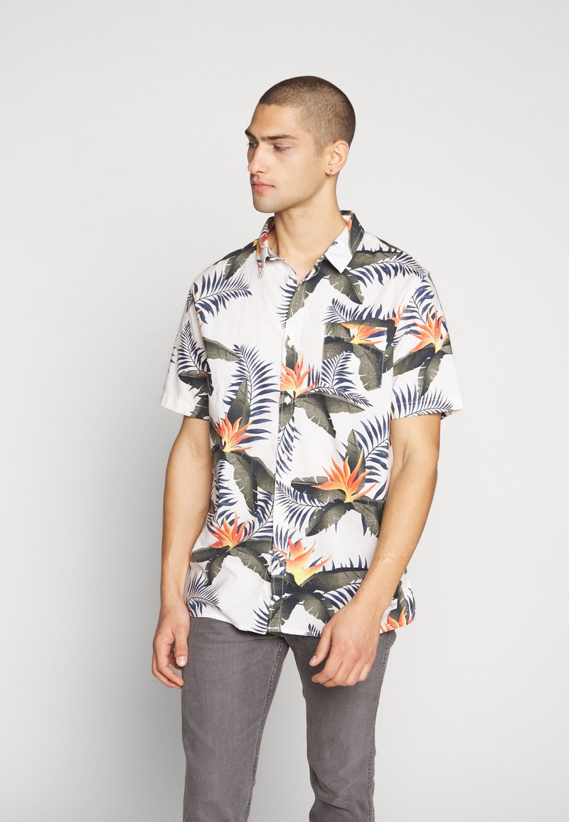 Quiksilver - POOLSIDERSS - Shirt - snow white