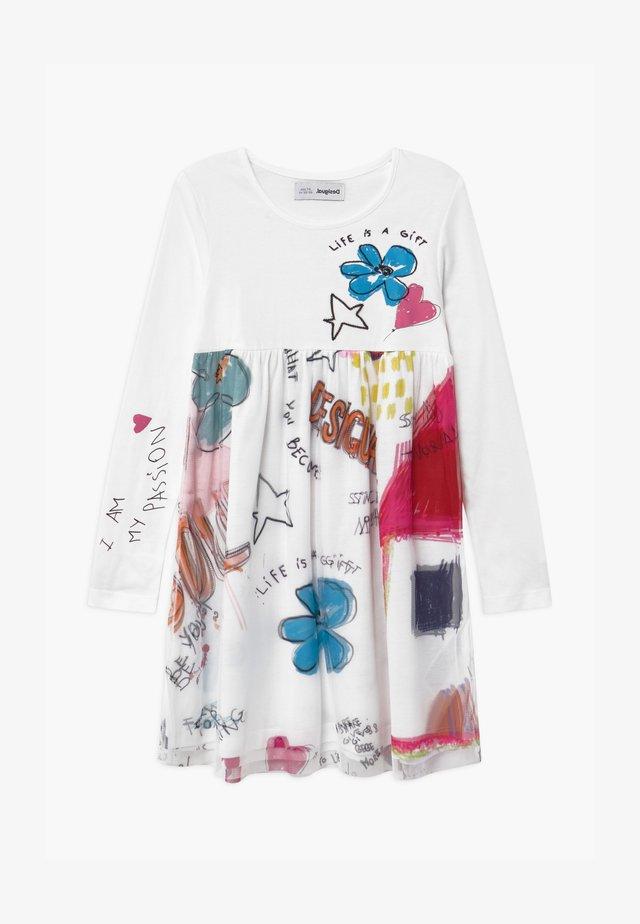 ZAMORA - Sukienka z dżerseju - white