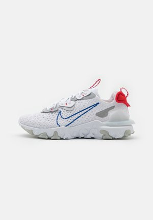 REACT VISION - Trainers - white/game royal/pure platinum