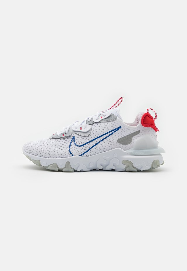 REACT VISION - Sneakers laag - white/game royal/pure platinum