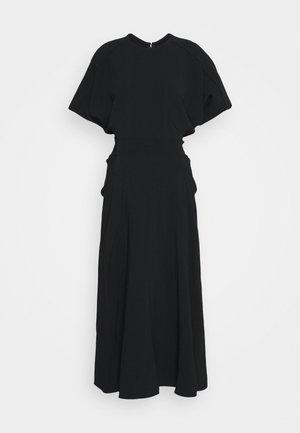 BATWING FRONT PLEAT MIDI - Maxi dress - black