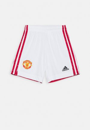 MANCHESTER UNITED SPORTS FOOTBALL UNISEX - Sports shorts - white